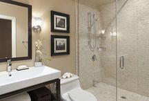 Ideas para baños. / Montaggio.