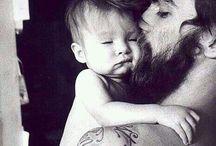 Beard, Father and Kids