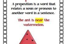 Grammar - Prepositions