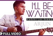 I WLL BE WAITING LYRICS Kabhi Jo Badal Barse ARJUN