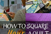 How to square your quilt