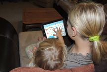 Digital reading to young children