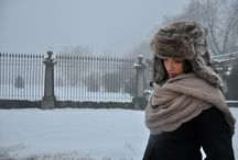 Let is snow, let is snow! / Winter shawls and scarves