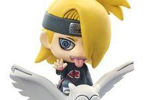 mini figures and anime stuff