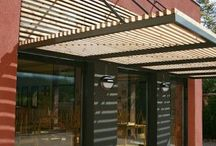 Awnings and sun shielding