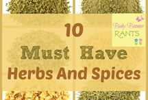 Herbs and Spices / culinary