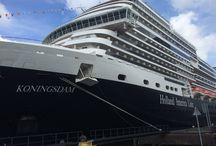 Koningsdam HAL / De MS Koningsdam is het nieuwste schip van de Holland America Line. Er is plek voor 2650 passagiers aan boord. In de Queen's lounge, opgezet als elegant theater, geniet u 's avonds van wervelende live muziek. Liefhebbers kunnen meteen een dansje wagen op de grootste dansvloer van het schip! Aan boord zijn meer familiehutten dan op andere schepen