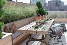 Decor | Rooftop terrace