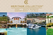 Meritage Collection  / Escape to Four of California's Favorite Destinations. Discover a refreshing lifestyle experience with the Meritage Collection, embracing luxury resorts in renowned California vacation destinations. From Napa Valley to Santa Barbara to Newport Beach and La Jolla, the Meritage Collection offers four of California's favorite getaways, where you'll find exactly what you came for, and more. Visit http://www.meritagecollection.com for more information. / by Balboa Bay Resort