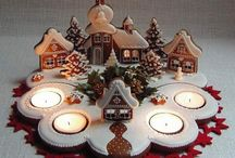 GINGERBREAD & HOUSES