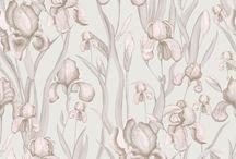 Metallic and Glitter Wallpaper / Popular, on-trend Metallic and Glitter wallpapers by Galerie Wallcoverings.