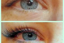 Lovely lower eyelash extensions!! / Make like Kim Kardashian and embrace the wow factor of matching top and bottom lash extensions!