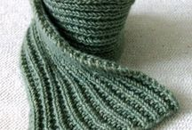 knitting - scarf