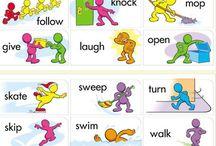 juego verbos