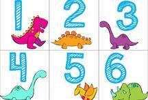 Temat: Dinozaury / by Pastela