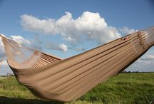 Tiburon Hammock Collection / The Tiburon hammocks are made of the highest quality Brazilian cotton. Handwoven macrame between cloth and tension ropes make this hammock extremely strudy and comfortable.