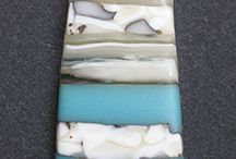 French Vanilla Fused Glass