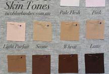 Skin Tones Fabric