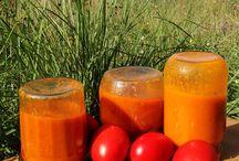 coulis fruits et tomates