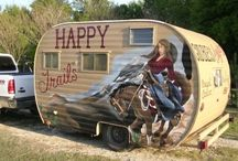 Caravans and trailers / Micro-living / by Alex Wells