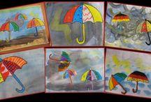 Schirme malen