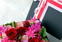 Flower Arrangement   フラワーアレンジメント / アトリエノリーズが制作した、生花のフラワーアレンジメント