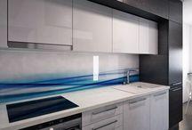 Návrh interiéru v menším bytě / Malé prostory v bytech v panelových domech nemusí být překážkou pro moderní design