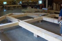 Timberbuilt Puzzle / Watching our shop guys create Timberbuilts is like watching the creation of a jigsaw puzzle.