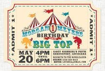 a big top bar mitzvah. / vintage circus ideas for a birthday party or Bar Mitzvah