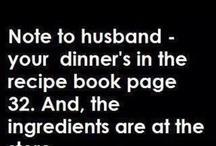 Recipes/ Food