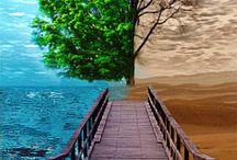 Para as coisas mais simples So o amor constrói pontes indestrutíveis