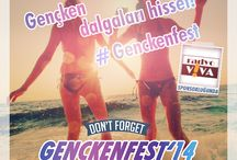 GençkenFest '14 / 17 şehirden gençlerin buluşma noktası GençkenFest, 20- 23 Mayıs tarihleri arasında Bodrum Kervansaray Resort and Hotel'de... Radyo Viva sponsorluğu'nda bu sene Merve Özbey ve Erdem Kınay'ın da sahne alacağı GençkenFest'te, birbirinden eğlenceli aktiviteler, sürpriz konuklar, yarışmalar, sizleri bekliyor. Ayrıntılı bilgi www.genckenfest.com adresinde!