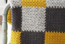 patchwork crochet blanket