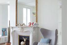 miroir cheminée