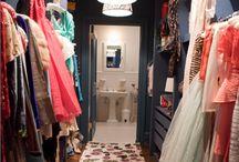 "SATC - Sex and the City - ""Carrie Bradshaw's"" closet."
