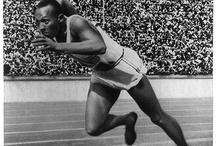Olímpiadas de 1936 - Berlim / Olimpíadas de 1936, em Berlim. Idealizada pelo partido nazista.