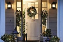 Festive Porches / When festive revellers come calling, be sure to have created a warm welcome for them right on your doorstep.  Adorning a doorway invitingly lights the way for visitors seeking your place out in the wintry gloom. Need a more effective framework for that warm welcome? Garden Requisites' metal porches are door canopies with sides that extend down to the ground, offering a welcoming, sheltered space that adds character to heritage and modern properties alike.