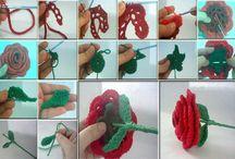 flores de croche / by Elisabete DE  Oliveira