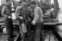 WWII WACS landing on Omaha Beach