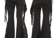 Pantalon flare bootcut