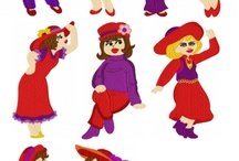 Red Hats Society (1) Clipart, Scrapbooking, Poems / Clipart, Scrapbooking, Poems, Inspiration / by Tanni Goodman