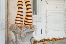 Halloween dekorácie