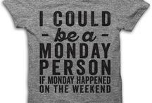 Mee shirts / Tee shirts I'd like to have