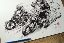Motorcycle ilustration