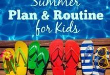 Summer Routine for kids