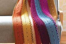 Gehäkelte Decken / crochet blanket