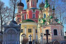 Храмы, монастыри / Churches, monasteries