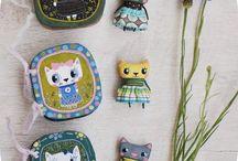 Cats textile