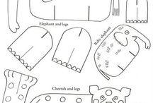 šablonky a omalovánky,pracovní listy