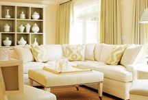 Living room/family room / by Amy Anderson Major